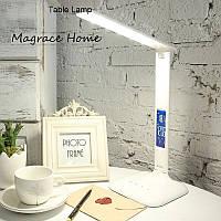 НАСТОЛЬНЫЙ СВЕТИЛЬНИК (clock alarm lamp) 5W White