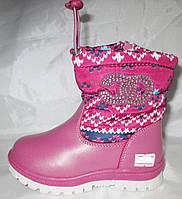 Детские зимние  сапоги для девочки TOM.M