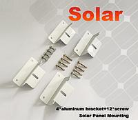 Универсальный алюминиевый крепеж для солнечной батареи