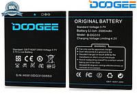 Батарея (АКБ, аккумулятор) Doogee B-DG310 для Doogee DG310 Voyager 2 (2000 mAh), оригинальный