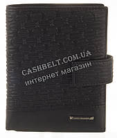 Элитный стильный прочный бумажник из натуральной качественной кожи LOUI VEARNER art. LOU82-368A черный, фото 1