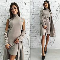 """Платье +кардиган """"Бисмарк"""" (НИЛ)"""