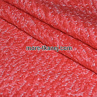 Букле Плотное Диагональ (красный)