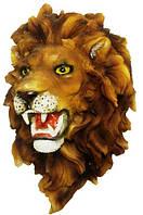 Голова льва на стену 180х250х120