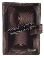 Стильная кожаная лаковая документница высокого качества H.VERDE art. HV-27 BLACK 14M полосы, фото 1