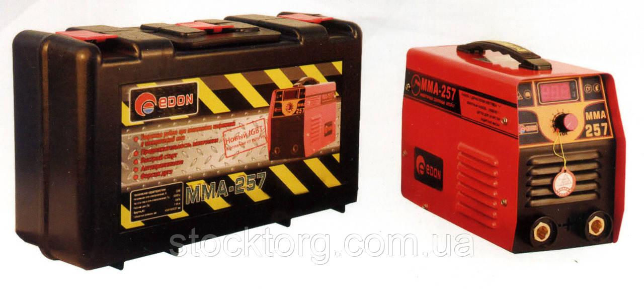 Сварочный инвертор Edon MINI MMA-257 чемодан