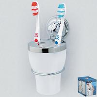 Держатель для зубных щеток на вакуумных присосках