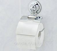 Держатель туалетной бумаги на вакуумных присосках