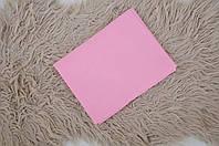 Простынь на резинке, розовая, фото 1