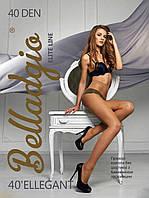 Женские прозрачные колготки с хлопковой ластовицей Ellegant 40 Belladgio