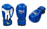 Перчатки боксерские на липучке EVERLAST 5018. Рукавички боксерські