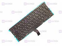 Оригинальная клавиатура для Apple Macbook Air A1370, Air A1465 series, ru, подсветка, вертикальный enter