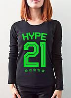 "Женская футболка ""Hype"", фото 1"
