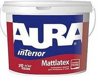 Краска латексная AURA MATTLATEX интерьерная