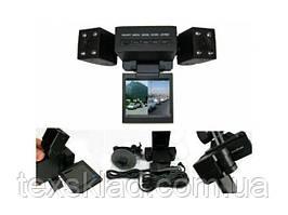 Відеореєстратор H*3000 переднього та заднього виду