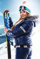 Женский лыжный костюм Москино батал