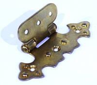 Петля декоративна золото G-330 накладна фігурна