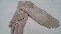 Женские двойные рукавицы, бежевый, разных цветов и размеров, 145/110 (цена за 1 шт. + 35 гр.)