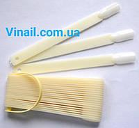 Типсы веер  32 шт ( белые)