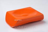 Мыльница настольная серия Акик оранжевый