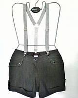 Шорты женские на подтяжках, ОП 72 см.