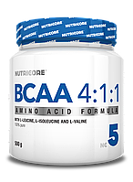 Nutricore BCAA 4:1:1 Unflavored 500g