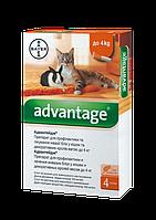 Капли Bayer Advantage (Адвантейдж) от блох для кроликов до 4 кг