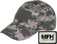 Кепка тактическая с липучками цифровой (пиксельный) камуфляж MFH 10263Q