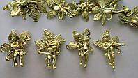 Ангелочек 4,5 см золото