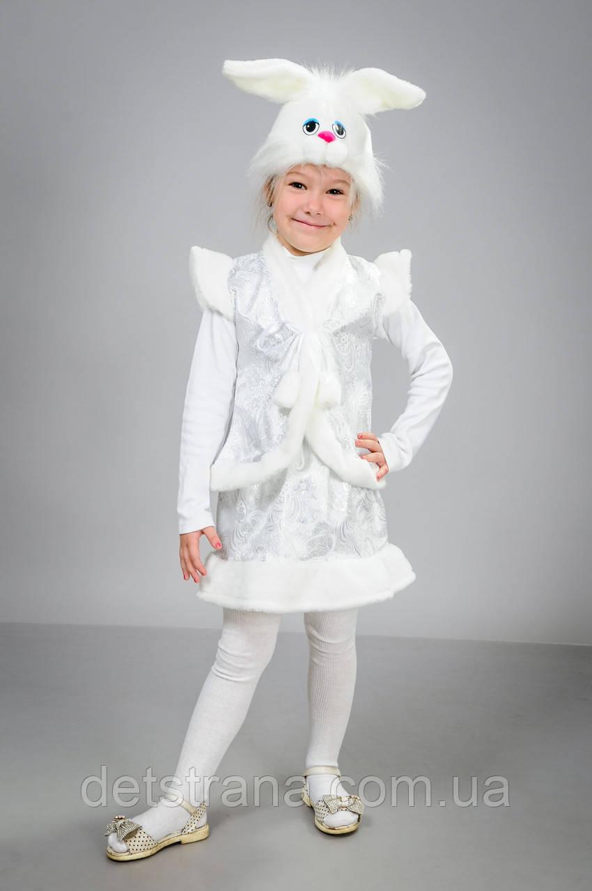 Карнавальный новогодний детский костюм Зайчиха