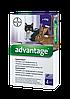 Капли Bayer Advantage (Адвантейдж) от блох для кошек свыше 4 кг
