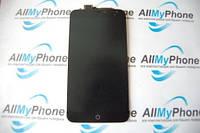 Дисплейный модуль для мобильного телефона Meizu MX4 5.3 черный