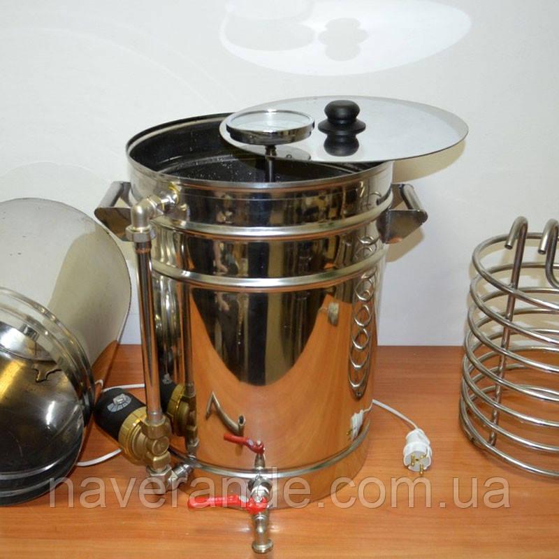 """Домашняя пивоварня с корзиной """"Гибридная 3-в-1"""" (36 литров)"""