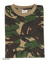 Камуфлированная футболка, DPM XL
