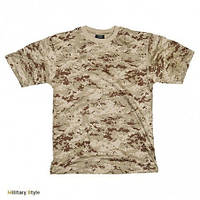 Камуфлированная футболка (Digital Desert)
