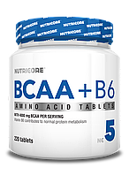 Nutricore BCAA+B6 220t