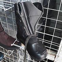 Чоловічі  зимові  чоботи-дутіки  на  зав'язках