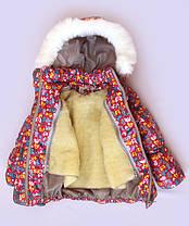 """Зимний костюм для девочки """"Резинка зверята"""", фото 3"""