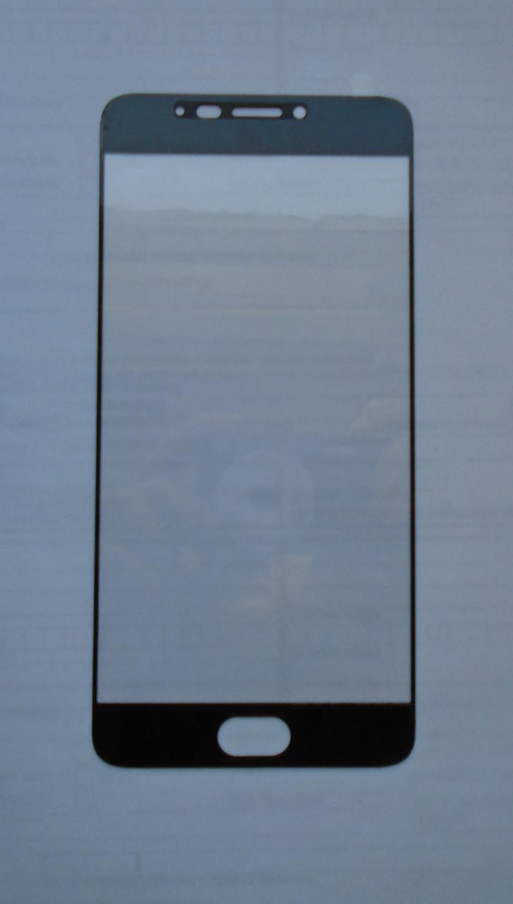 Защитное стекло Meizu M3 Note Black full Screen