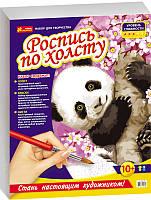 """Роспись по холсту """"Панда"""" 4946"""