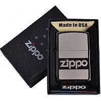 Зажигалка бензиновая Zippo в подарочной упаковке 4732-4 SO