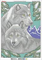 Схема для вишивки бісером вовки в Шостке. Сравнить цены 607ba795a320e
