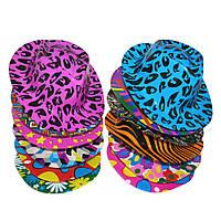Шляпа Мужская пластик с принтом  KSG-3752