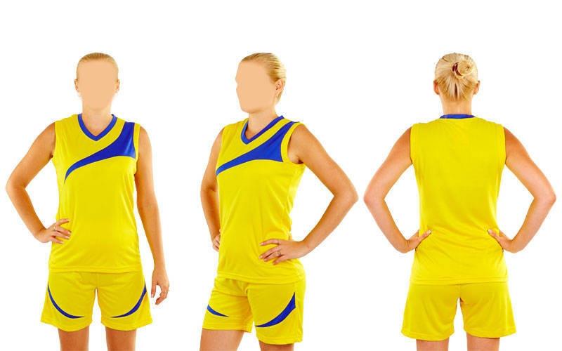 Форма баскетбольна жіноча Leader B103-Y