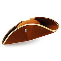 Шляпа Пирата Треуголка коричневая