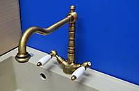 Смеситель для кухни Emmevi Deco Art.-121617(Bronze)