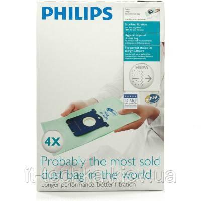 Сменный синтетический мешок-пылесборник s-bag philips fc8022/04