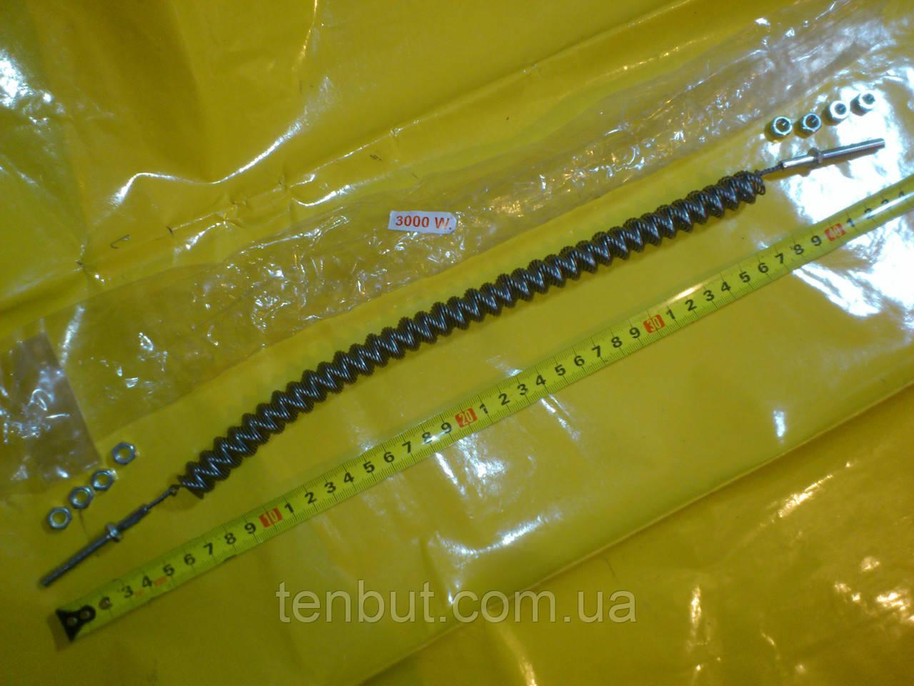 Спираль для обогревателя типа UFO 3.0 кВт. / 220 В. / длина - 300 мм. /диаметр - 19 мм. Турция