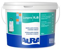 Краска для влажных помещений AURA LUX PRO K&B антисептическая