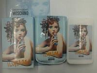 Женский мини-парфюм в изысканном чехле Moschino Cheap & Chic I Love,Love 50ml